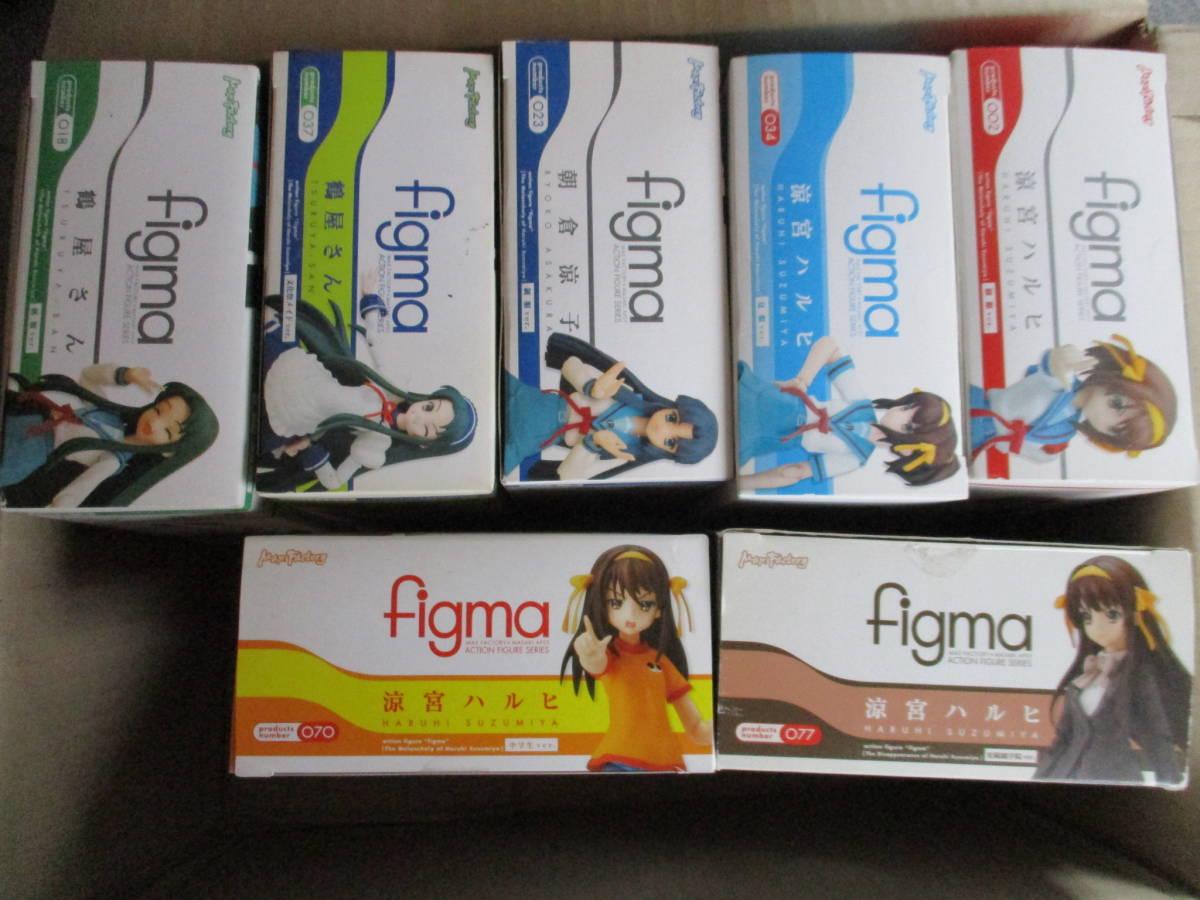 figma 涼宮ハルヒの憂鬱シリーズ 7体セット