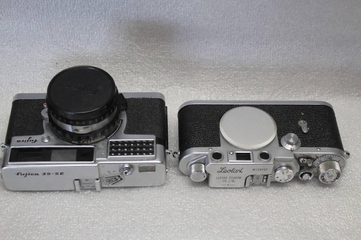レオタックス、Mマウント、 フジカ35-SE 2台セット 作動品_画像3