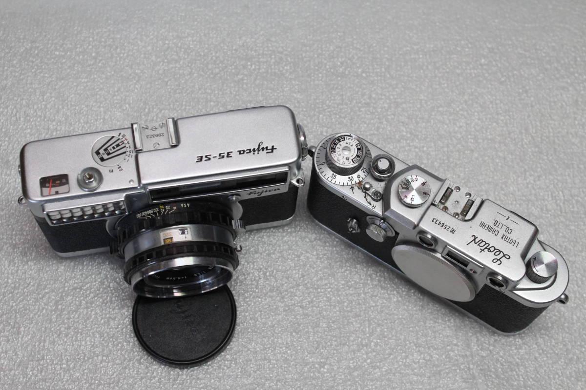 レオタックス、Mマウント、 フジカ35-SE 2台セット 作動品_画像5