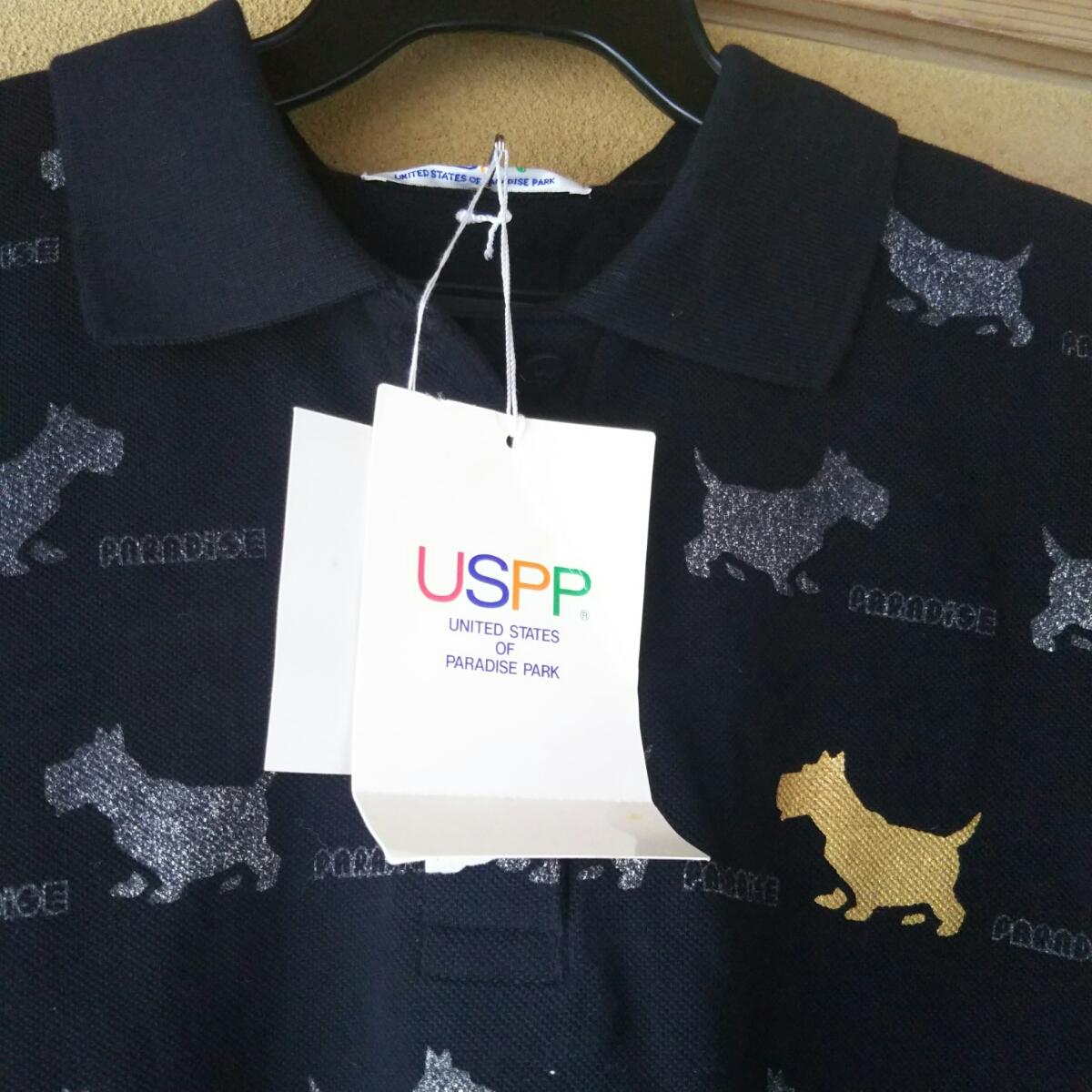 新品タグ付きUSPP半袖ポロシャツ_画像2