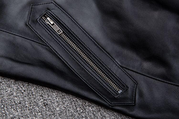 【★定価20万】★高品質★上層牛革100%男子空軍飛行スーツ レザージャケット メンズレザーウェア レザージャケット サイズ選択可_画像3