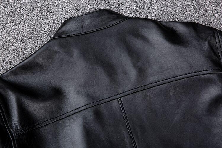 【★定価20万】★高品質★上層牛革100%男子空軍飛行スーツ レザージャケット メンズレザーウェア レザージャケット サイズ選択可_画像8