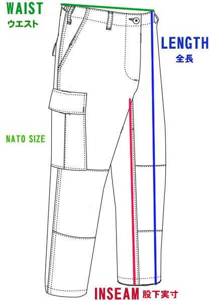 米陸軍 ACU UCP迷彩 難燃性 A2CU エアクルー コンバット トラウザース Size M/L. 回転翼機搭乗員戦闘服パンツ_画像8