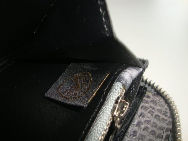 新品 クロコダイル 超逸品 JRA 認定 日本製 セカンド ラウンド 長財布 腹革 一枚革 センターカット 送料無料 グレーⅡ_画像9