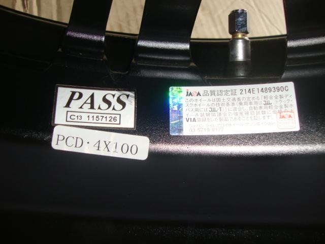 新品 未使用 軽用 ロクサーニ マグナス ホイール 165/45R16 N-BOX エブリィ ワゴンR ムーヴ タント 送料無料 在庫処分 激安_画像7
