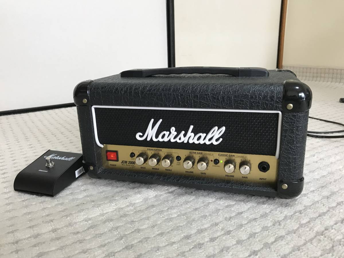 ★Marshall 50th Anniversary DSL1H JCM 2000 英国製(美品) 検索用 マーシャル アンプヘッド DSL1HR DSL-1H DSL-1HR
