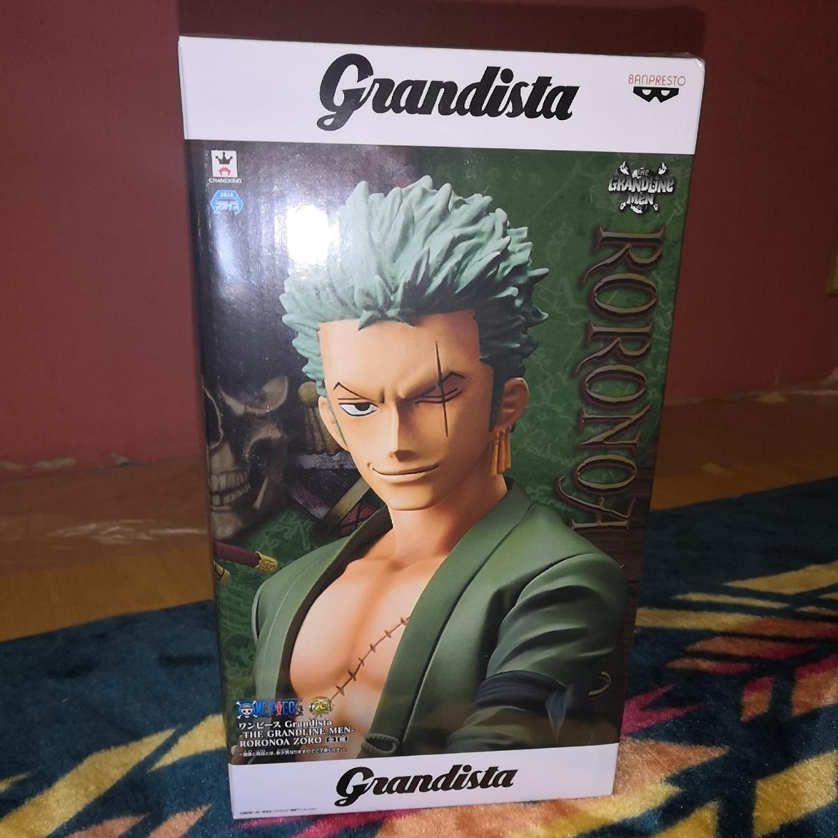 新品・未使用 Grandista THE GRANDLINE-MEN ロロノア・ゾロ
