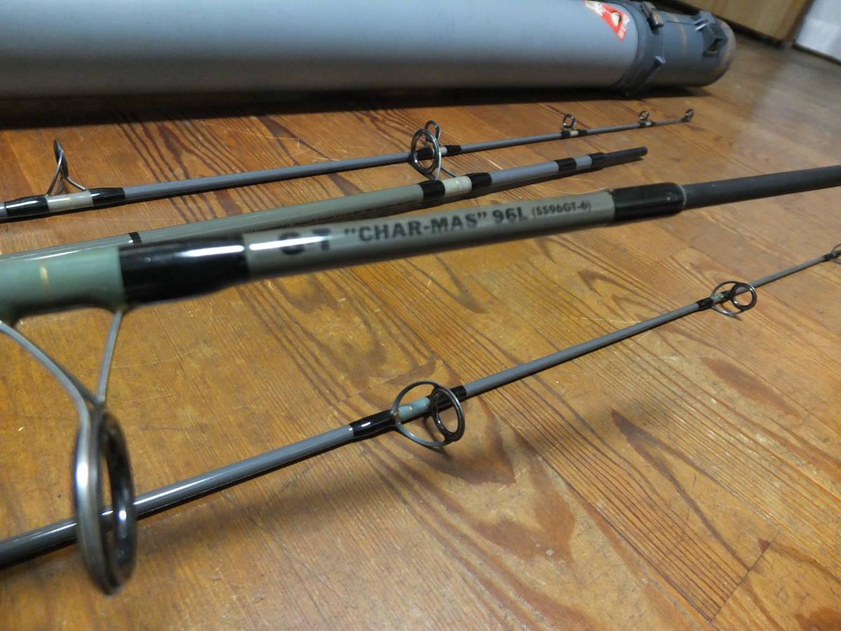 不滅の名竿・SAURUSU ・GT CHAR-MASU 90Hと96Lの兄弟のセット出品です。_画像7