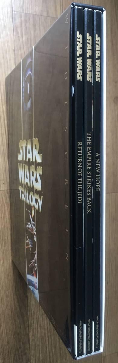■レーザーディスク STAR WARS TRILOGYスター・ウォーズ トリロジー THX■USED美品_画像5