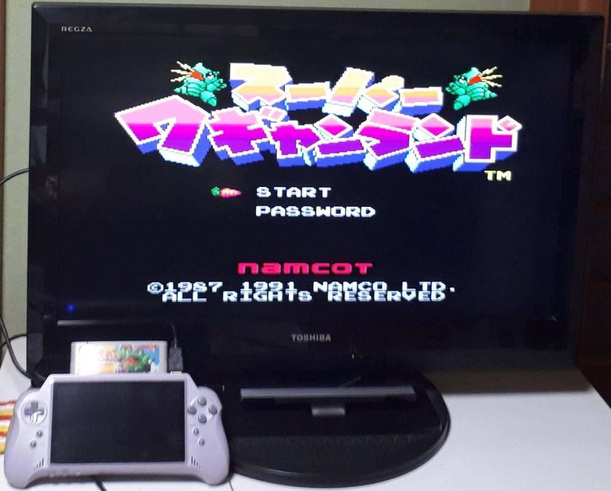 SFC用互換機 16ビットポケットHDMI  スーパーファミコンのソフトを遊ぶことができます_画像9