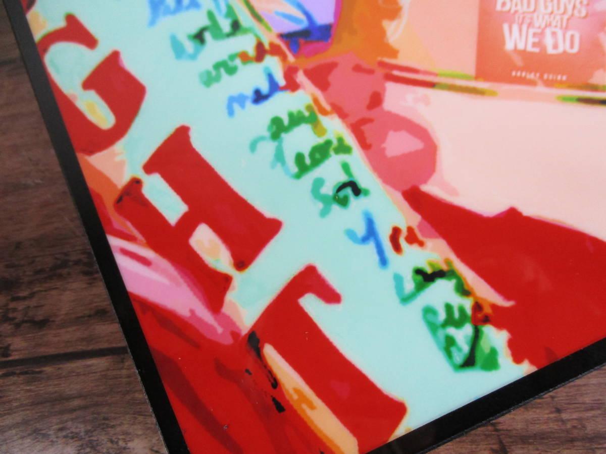 ハーレイ・クイン ファブリックパネル(スーサイド・スクワッド/バットマン)壁掛けパネル ポップアートフレームパネル インテリアボード _画像3