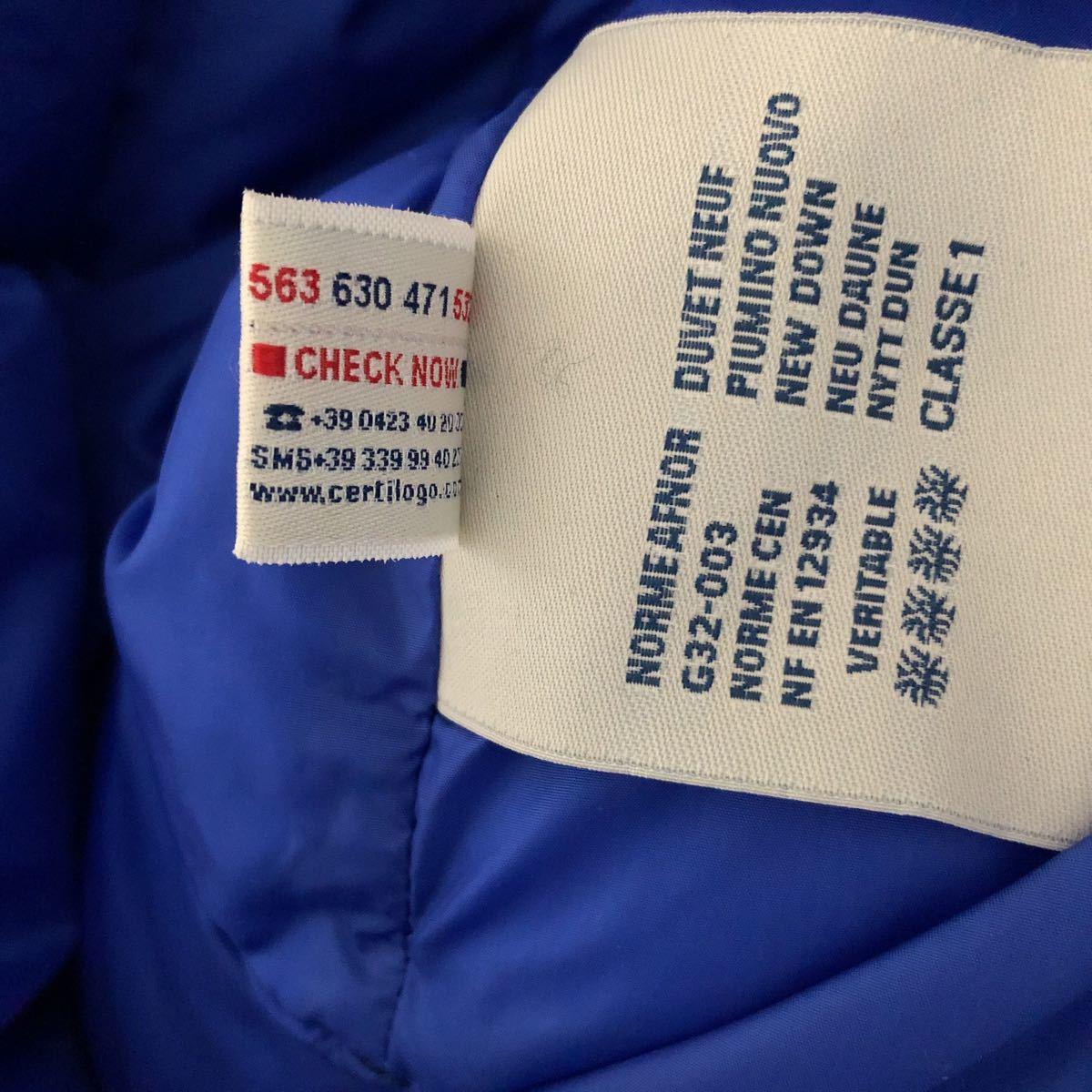 新品 本物 モンクレール MONCLER ジャケット ダウンジャケット サイズ 4 ブルー メンズ ダブルジップアップ パーカー THOMAS 大人気!_画像10