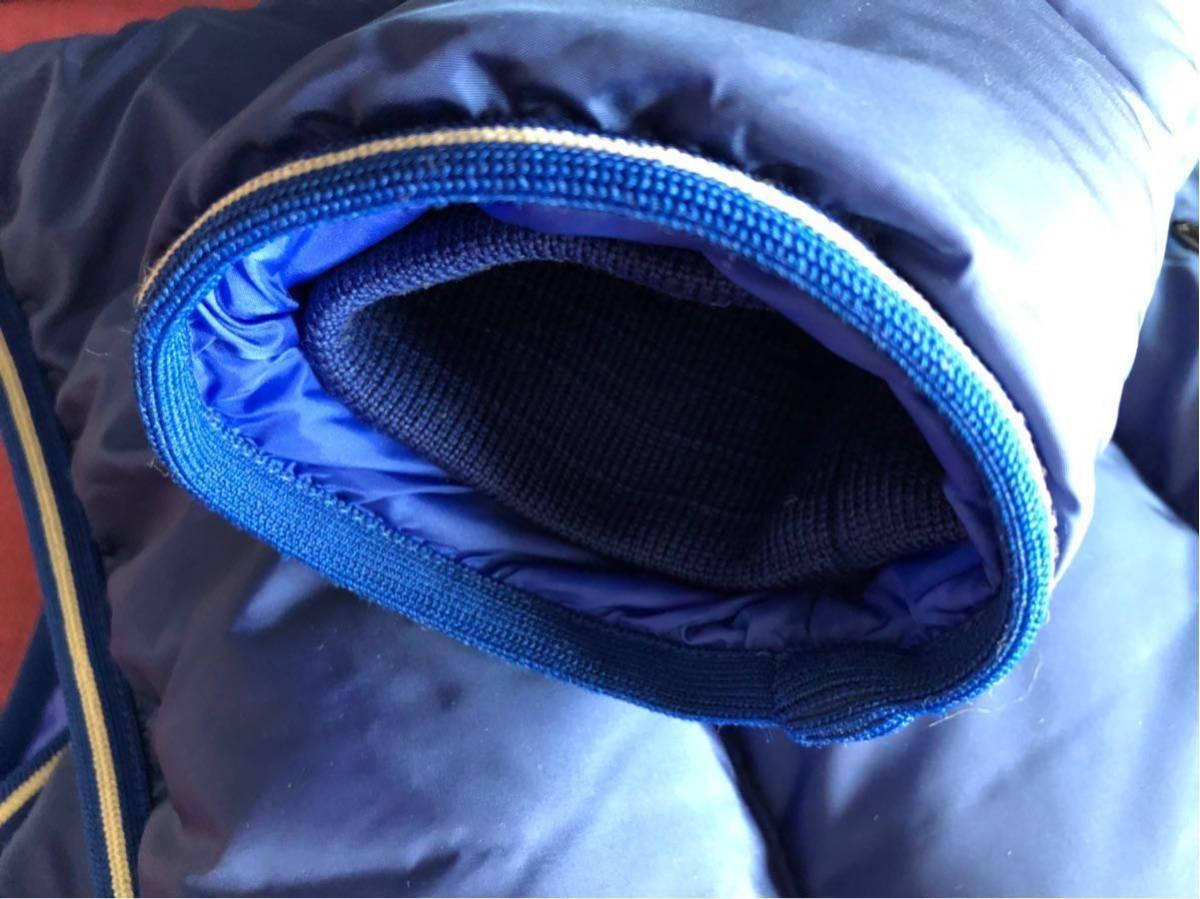 新品 本物 モンクレール MONCLER ジャケット ダウンジャケット サイズ 4 ブルー メンズ ダブルジップアップ パーカー THOMAS 大人気!_画像8