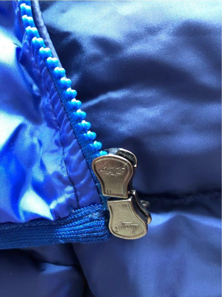 新品 本物 モンクレール MONCLER ジャケット ダウンジャケット サイズ 4 ブルー メンズ ダブルジップアップ パーカー THOMAS 大人気!_画像7