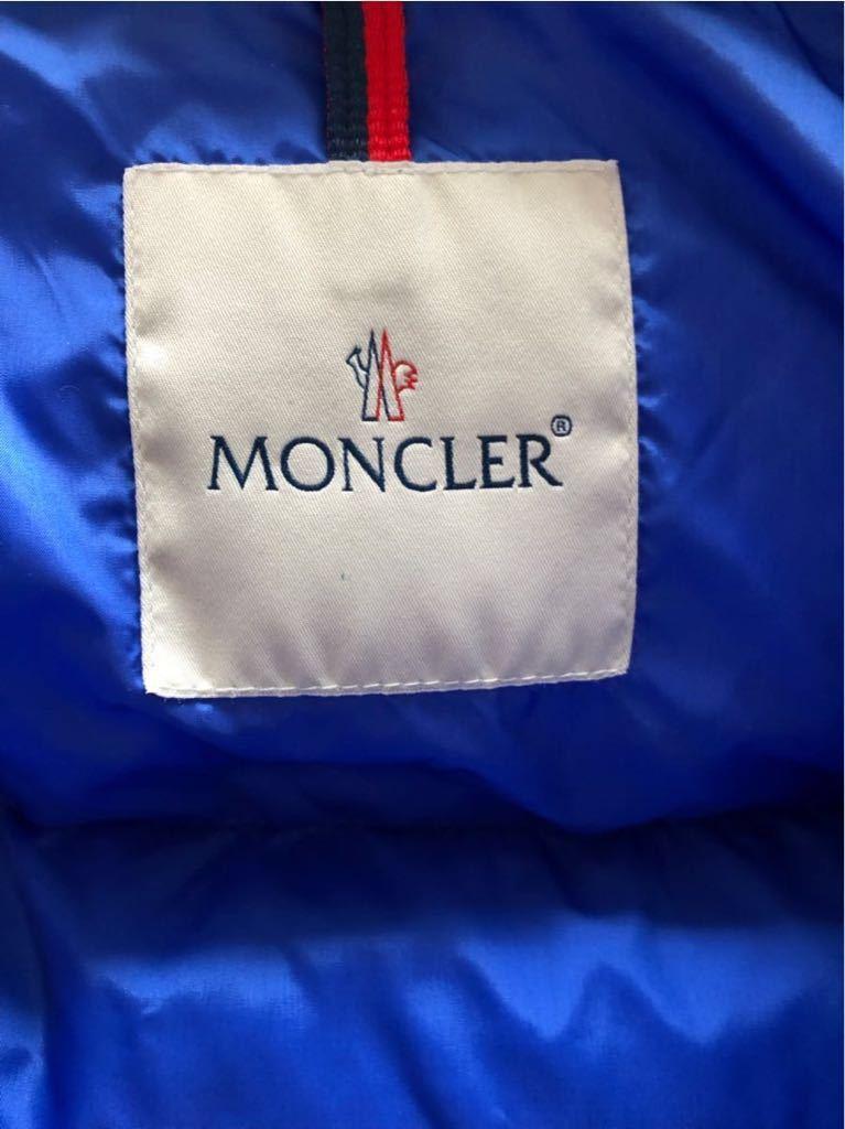 新品 本物 モンクレール MONCLER ジャケット ダウンジャケット サイズ 4 ブルー メンズ ダブルジップアップ パーカー THOMAS 大人気!_画像6
