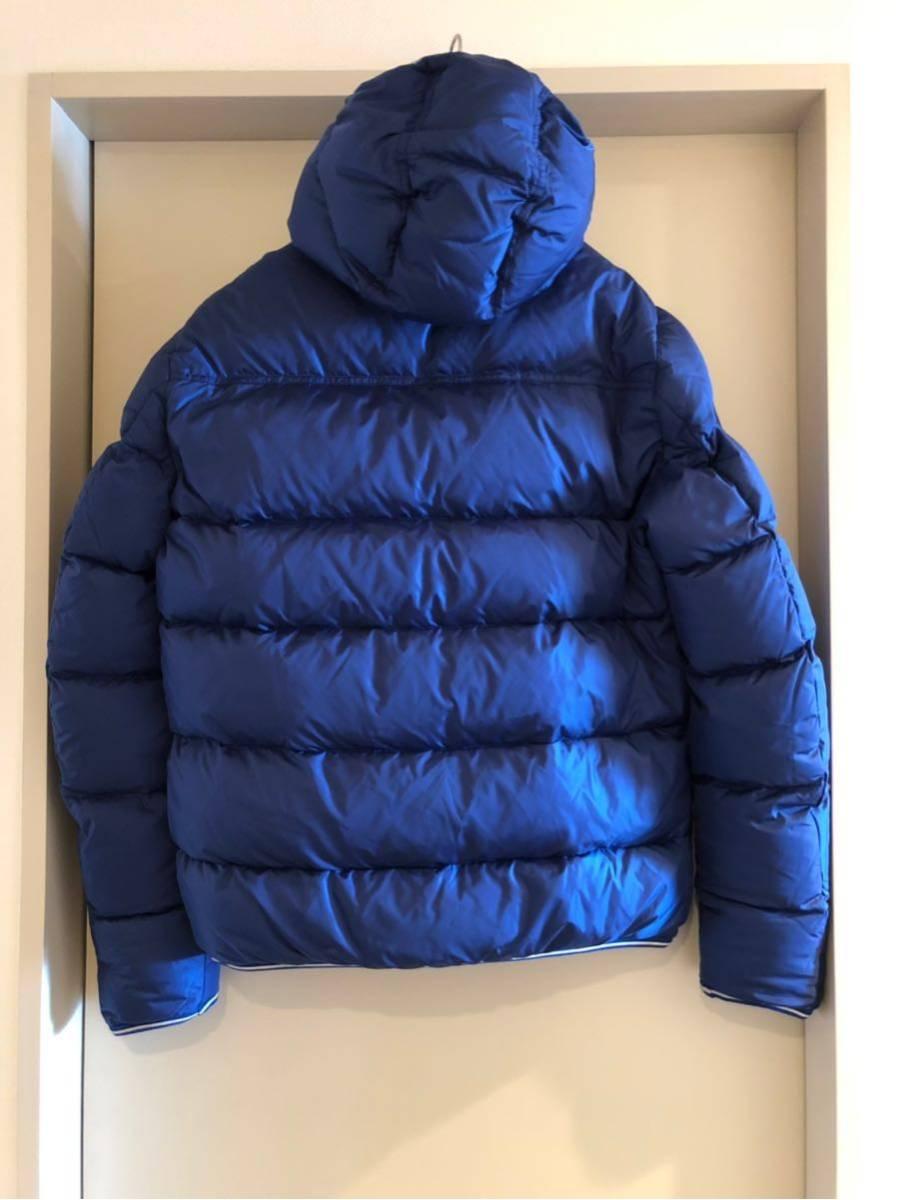 新品 本物 モンクレール MONCLER ジャケット ダウンジャケット サイズ 4 ブルー メンズ ダブルジップアップ パーカー THOMAS 大人気!_画像3