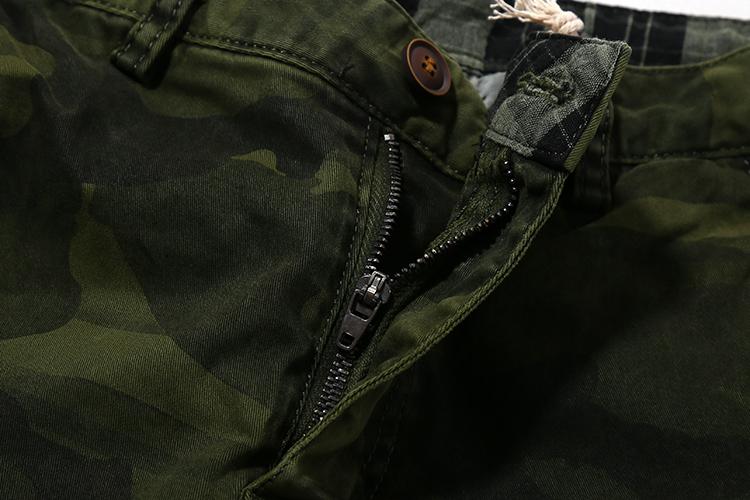 超人気!!超定番!!ヘビロテ!!◆迷彩◆ビンテージ加工◆カーゴ◆ジャガー◆イージー◆パンツ◆緑◆29_画像5