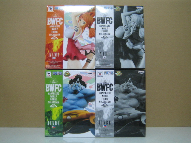 ワンピース BANPRESTO WORLD FIGURE COLOSSEUM 造形王頂上決戦2 vol.3 & vol.4 全4種セット