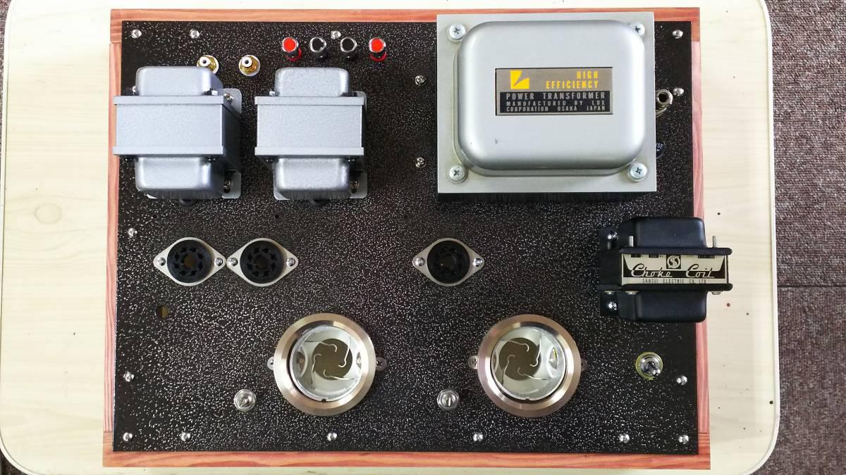 出力管なし 845 シングルアンプ 低電圧動作 ラックス 10F310 サンスイC-5-200 ゼネラル PMF-15WS_画像2