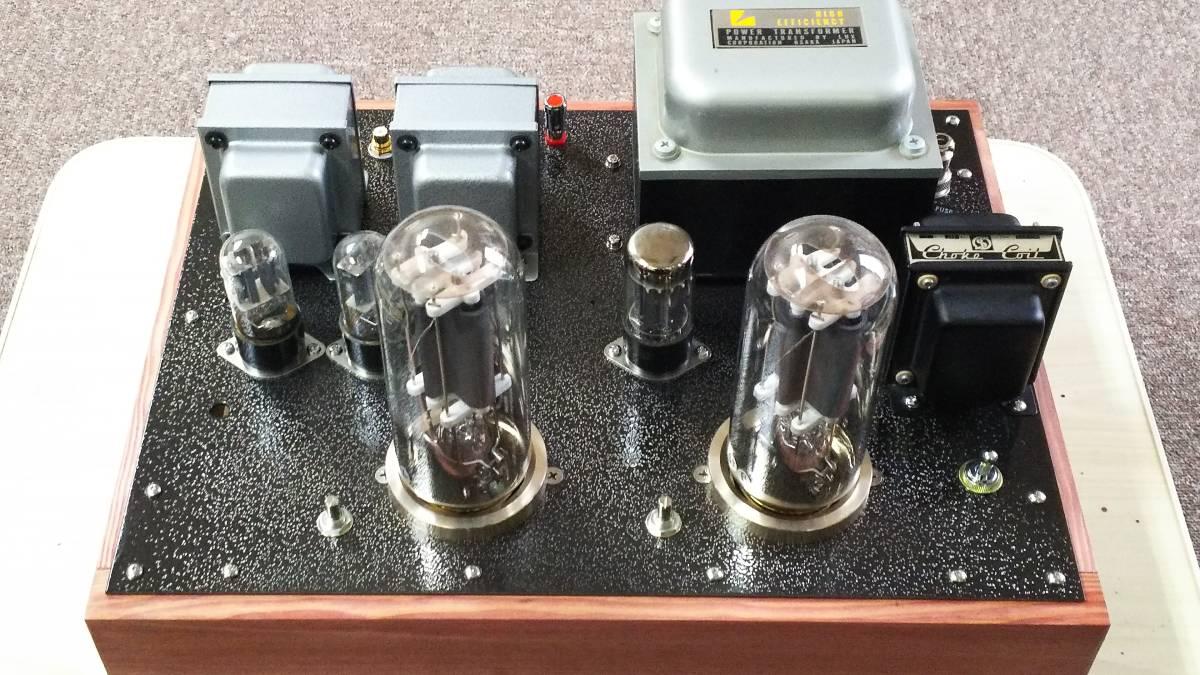 出力管なし 845 シングルアンプ 低電圧動作 ラックス 10F310 サンスイC-5-200 ゼネラル PMF-15WS