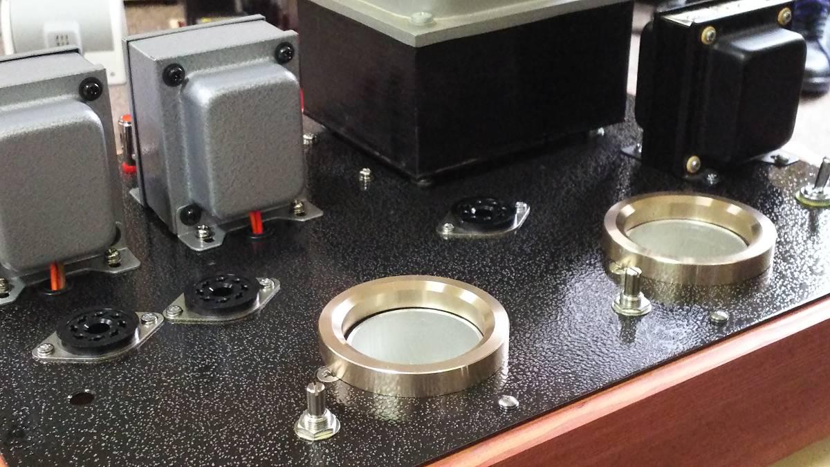 出力管なし 845 シングルアンプ 低電圧動作 ラックス 10F310 サンスイC-5-200 ゼネラル PMF-15WS_画像4