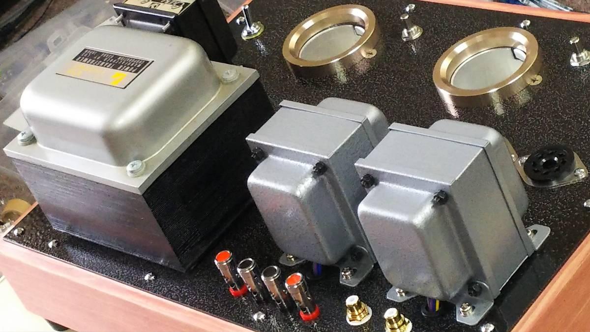 出力管なし 845 シングルアンプ 低電圧動作 ラックス 10F310 サンスイC-5-200 ゼネラル PMF-15WS_画像3