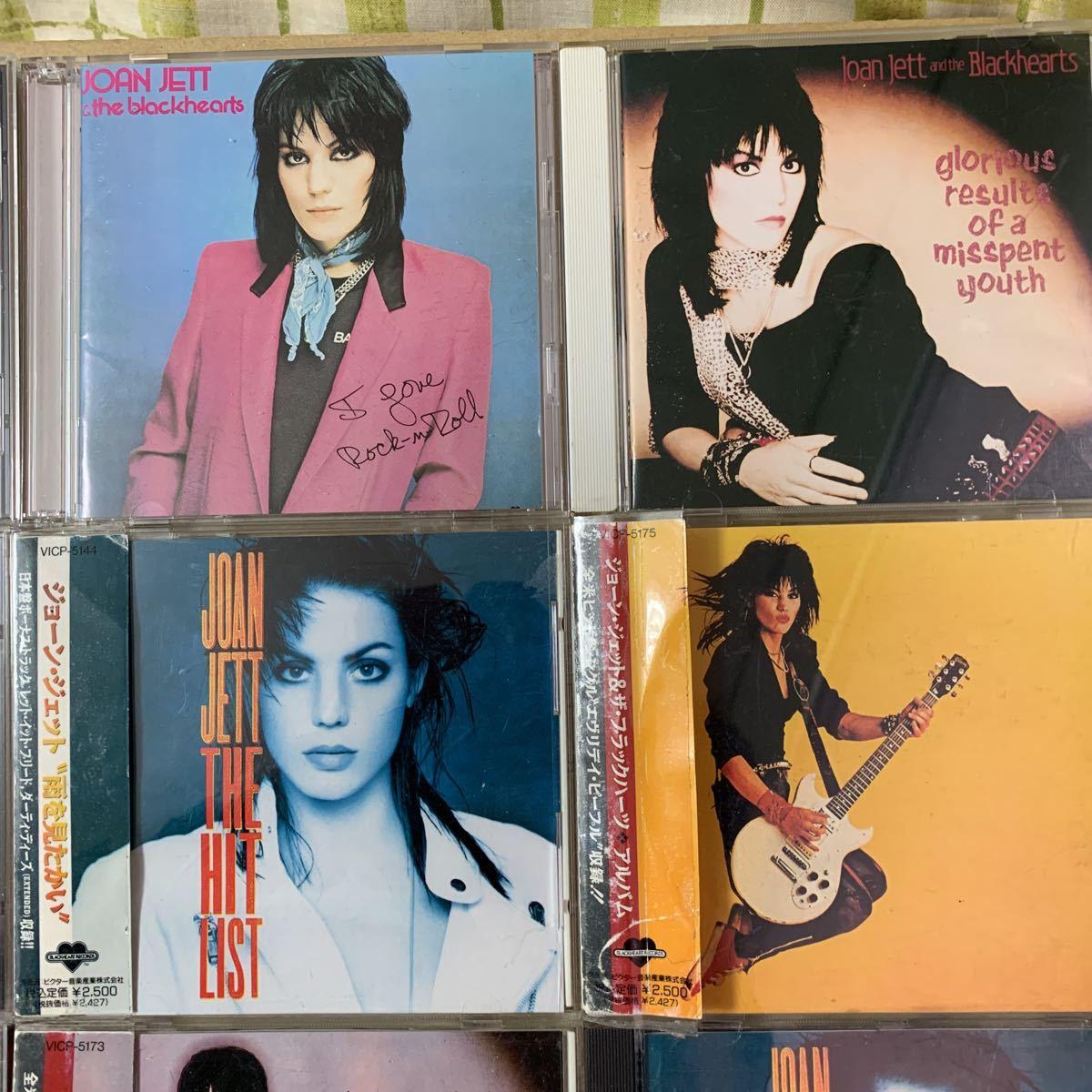 国内盤+US盤/中古CD/ジョーン・ジェット&ザ・ブラックハーツ/JOAN JETT & THE BLACKHEARTS/9枚セット/送料無料_画像3
