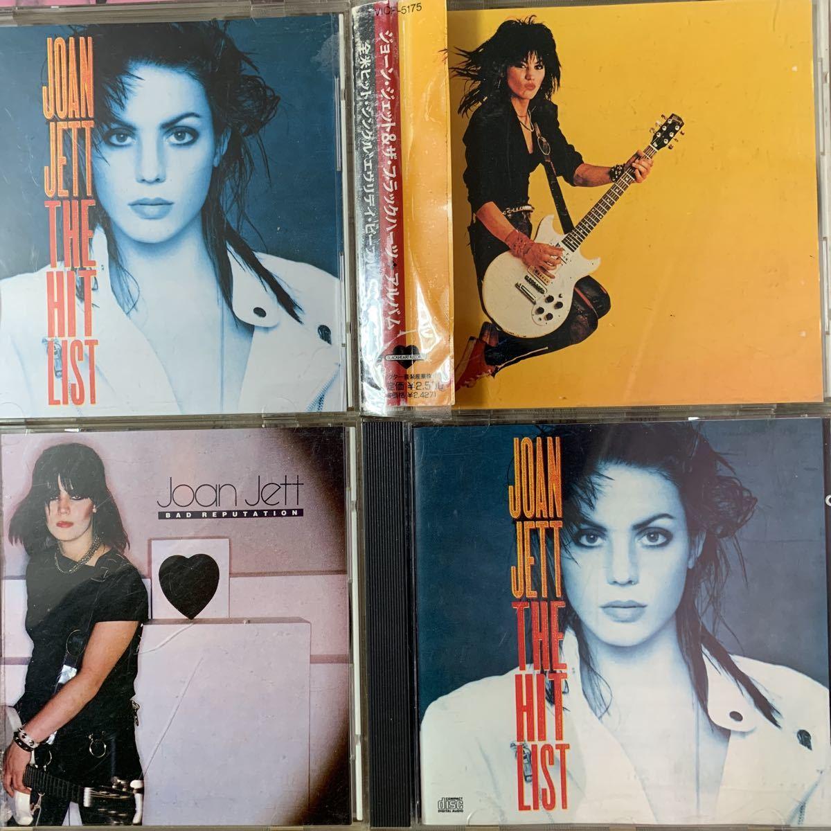 国内盤+US盤/中古CD/ジョーン・ジェット&ザ・ブラックハーツ/JOAN JETT & THE BLACKHEARTS/9枚セット/送料無料_画像5