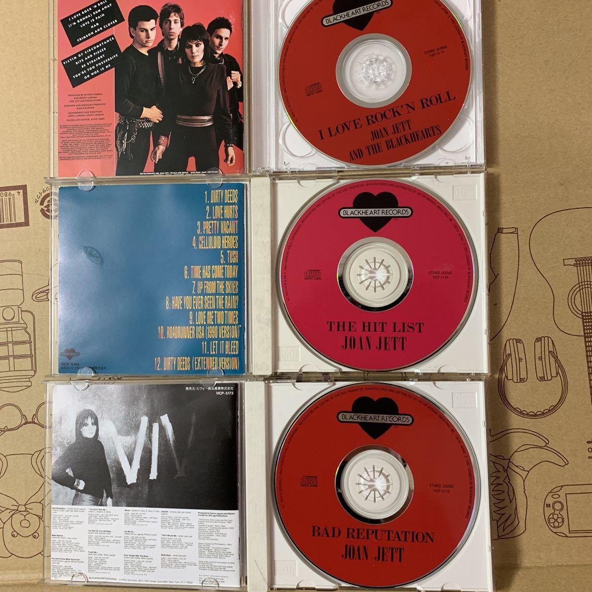 国内盤+US盤/中古CD/ジョーン・ジェット&ザ・ブラックハーツ/JOAN JETT & THE BLACKHEARTS/9枚セット/送料無料_画像7