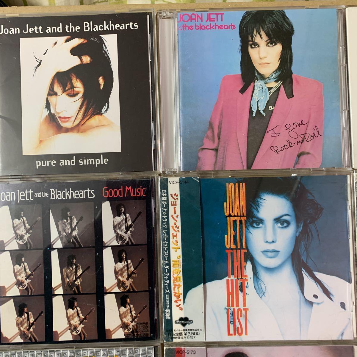 国内盤+US盤/中古CD/ジョーン・ジェット&ザ・ブラックハーツ/JOAN JETT & THE BLACKHEARTS/9枚セット/送料無料_画像2