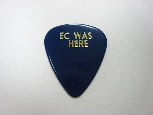 【非売品】エリック・クラプトン / ツアー用ギターピック(2009年日本公演)_画像3