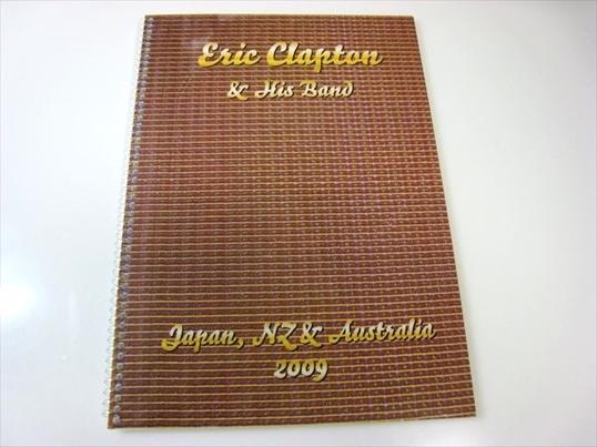 【非売品】エリック・クラプトン『2009年日本公演用ツアーマニュアル』