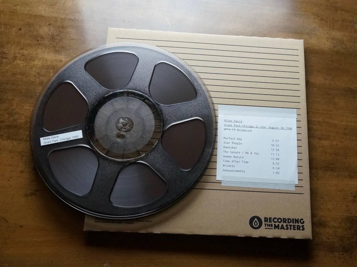 "Used★2TR19cm【RTM SM468 】1/4""×(≒)2700ft Audio Tape★w/Plastic Reel★10号オープ"