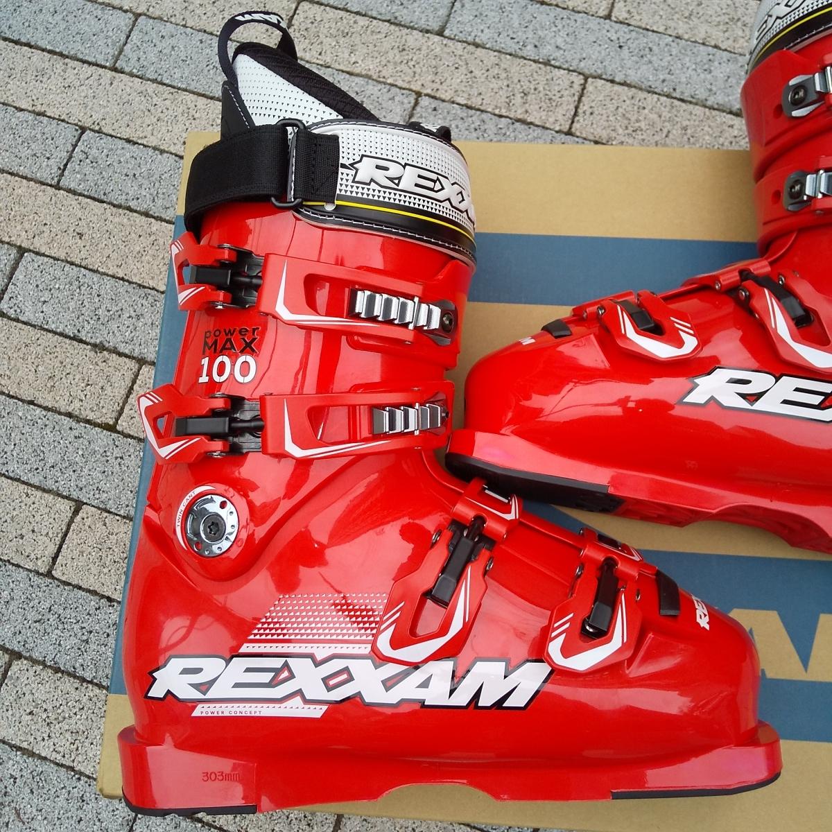 REXXAM Power MAX-100 26.0cm 26.5cm レクザム レグザム スキーブーツ_画像2
