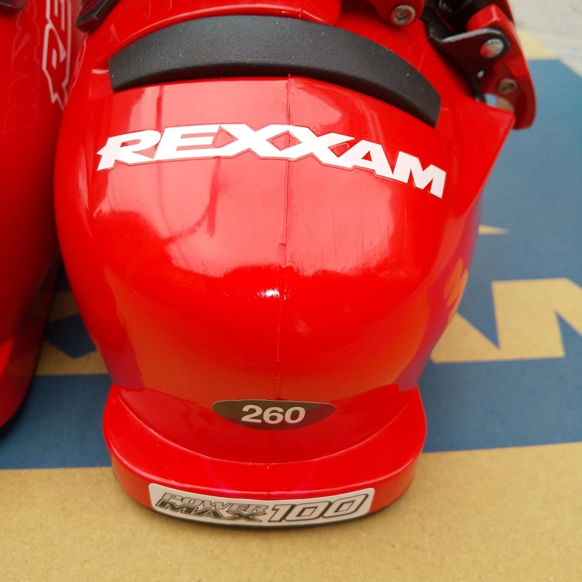 REXXAM Power MAX-100 26.0cm 26.5cm レクザム レグザム スキーブーツ_画像5