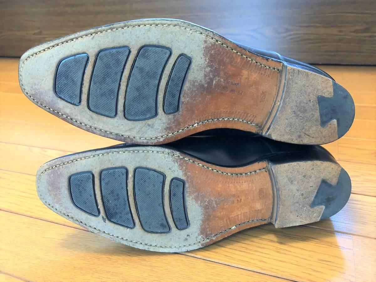 【1円~】REGAL (リーガル) Y907 25 1/2 (25.5cm) ビジネスシューズ 革靴 ストレートチップ_画像4