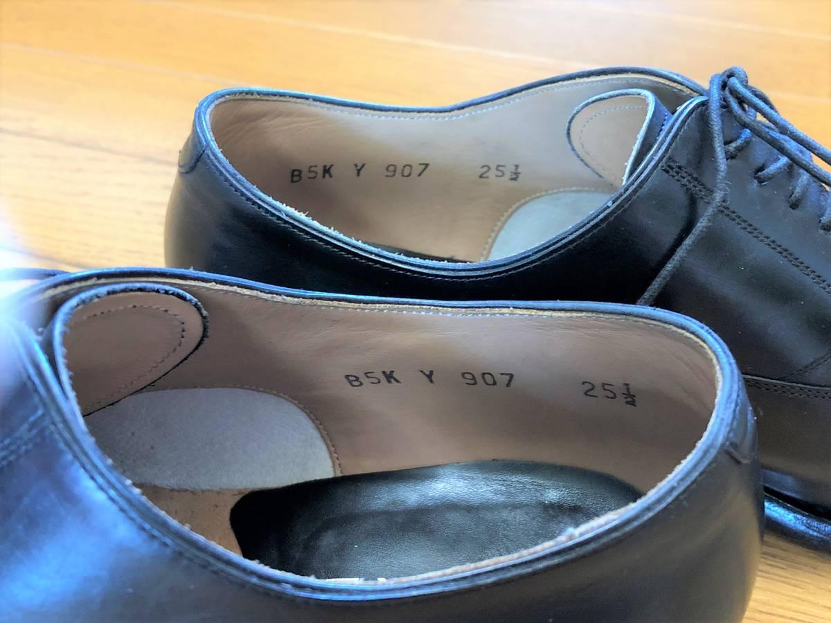【1円~】REGAL (リーガル) Y907 25 1/2 (25.5cm) ビジネスシューズ 革靴 ストレートチップ_画像3