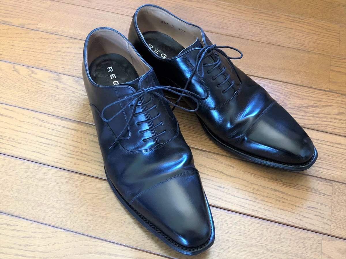 【1円~】REGAL (リーガル) Y907 25 1/2 (25.5cm) ビジネスシューズ 革靴 ストレートチップ_画像2