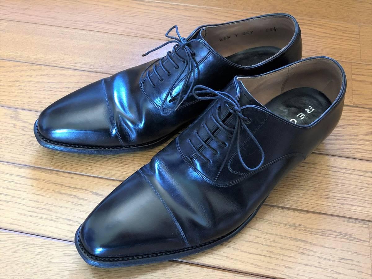 【1円~】REGAL (リーガル) Y907 25 1/2 (25.5cm) ビジネスシューズ 革靴 ストレートチップ