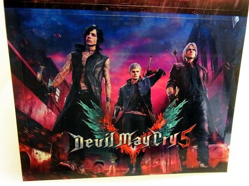 【非売品!】『Devil May Cry5 デビルメイクライ5』&『BIOHAZARD RE:2 バイオハザード2』CAPCOM カプコン 特製ステッカー PS4 DMC_画像3
