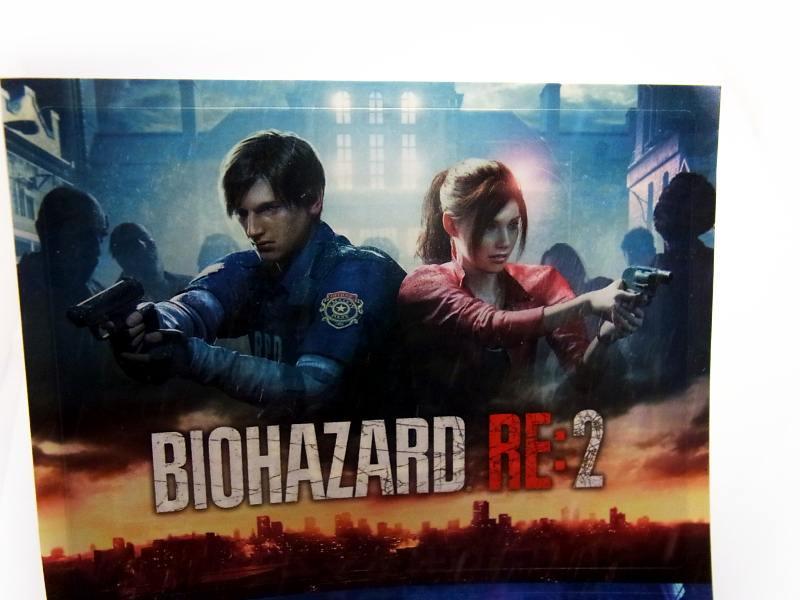 【非売品!】『Devil May Cry5 デビルメイクライ5』&『BIOHAZARD RE:2 バイオハザード2』CAPCOM カプコン 特製ステッカー PS4 DMC_画像4