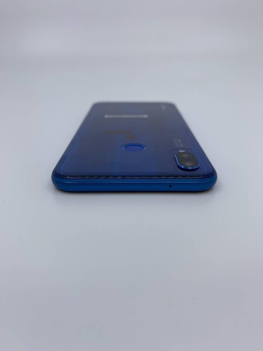 ☆未使用品☆ Huawei P20 lite ブルー UQモバイル SIMフリー ネットワーク利用制限〇 [ゆうパック送料無料] _画像5