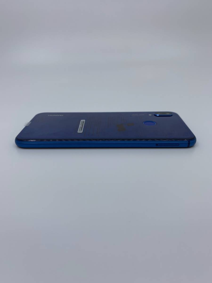 ☆未使用品☆ Huawei P20 lite ブルー UQモバイル SIMフリー ネットワーク利用制限〇 [ゆうパック送料無料] _画像7