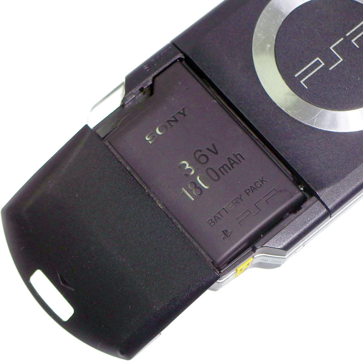 送料込! PSP-1000 本体のみ + ソフト1枚 動作確認済 _画像4