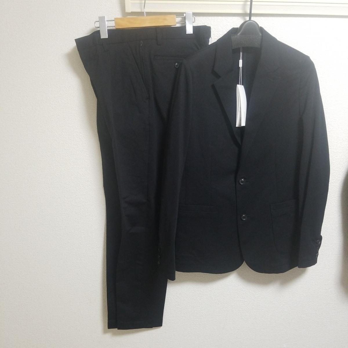 極美品19SS junhashimoto ブラック ジャージーセットアップ size4 JERSEY JACKET 1031910007 JERSEY TUCK PANTS1071910012 wjkAKM1piu_画像8