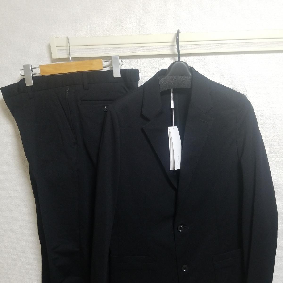 極美品19SS junhashimoto ブラック ジャージーセットアップ size4 JERSEY JACKET 1031910007 JERSEY TUCK PANTS1071910012 wjkAKM1piu_画像9