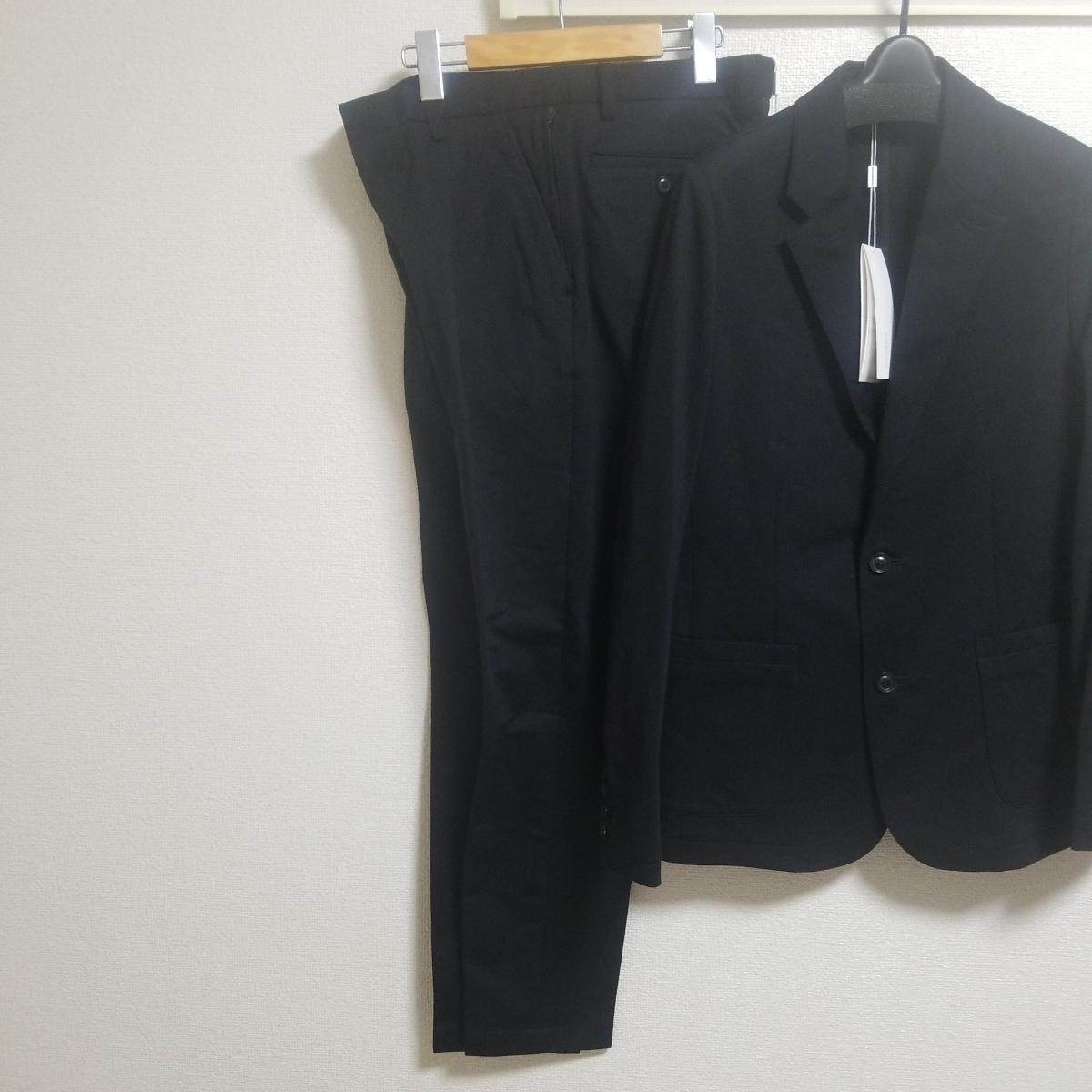 極美品19SS junhashimoto ブラック ジャージーセットアップ size4 JERSEY JACKET 1031910007 JERSEY TUCK PANTS1071910012 wjkAKM1piu_画像10
