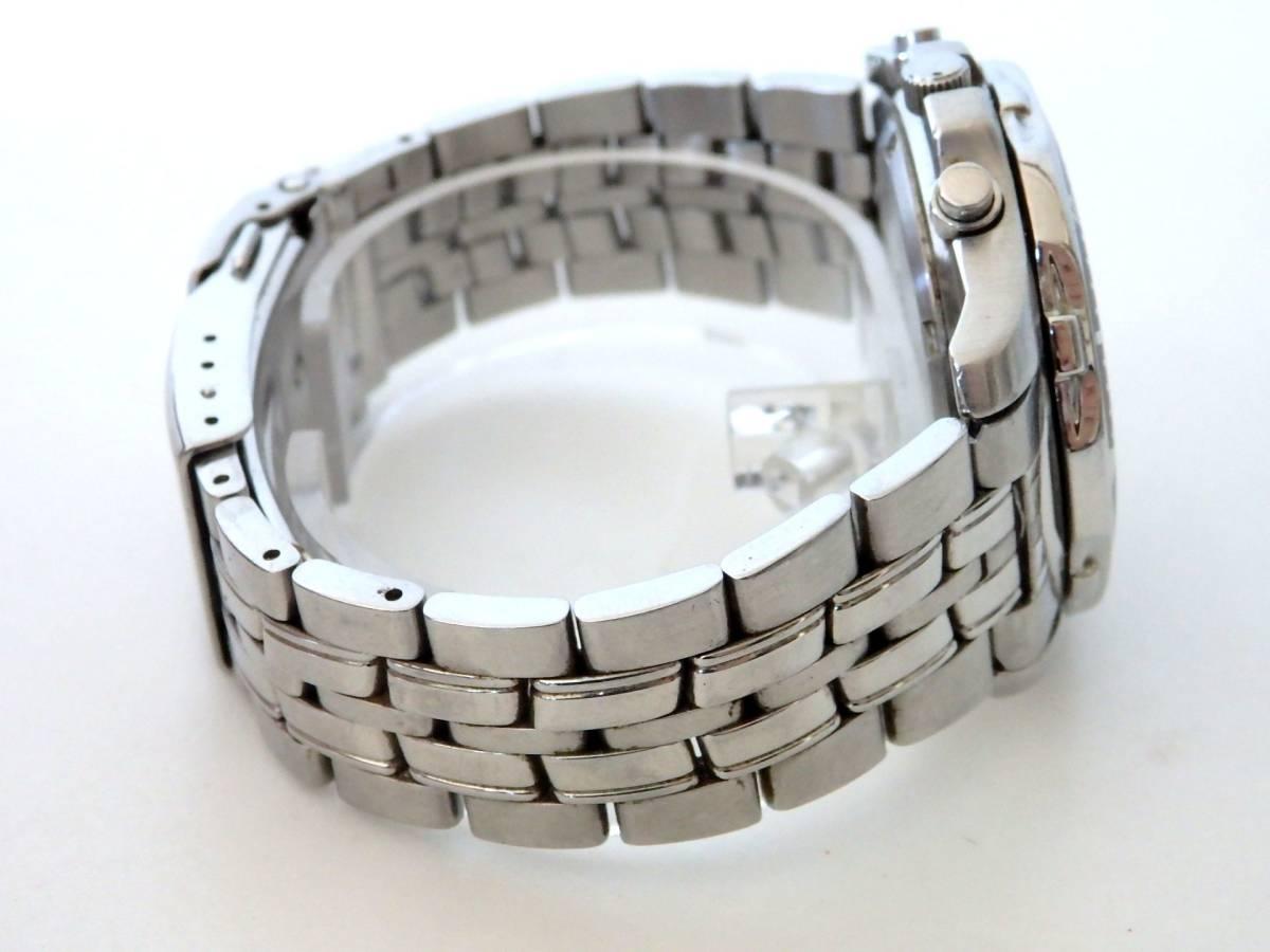 <本物 SEIKO セイコー 腕時計 クロノグラフ 7T62-0DT0 稼働品 電池交換済み>1.82.10 ☆定形外発送OK☆ 290円_画像5