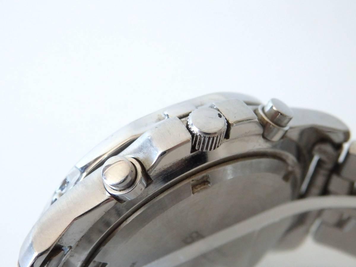 <本物 SEIKO セイコー 腕時計 クロノグラフ 7T62-0DT0 稼働品 電池交換済み>1.82.10 ☆定形外発送OK☆ 290円_画像7
