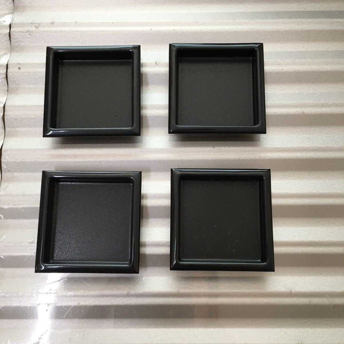 襖 引き手 真鍮 四方角 4個セット 44㍉×44㍉ 定形外郵便発送可
